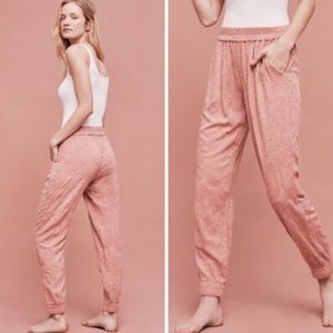 Anthro Saturday Sunday Pink Taupe Joggers